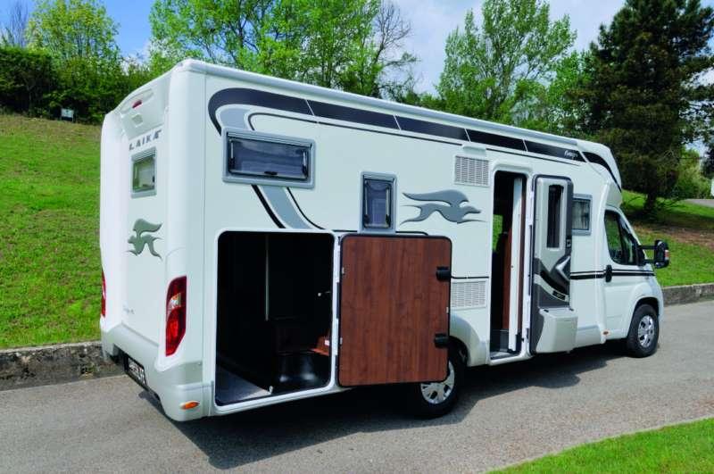 Laika ecovip 410 i test di camperlife camper life for Planimetrie del garage rv