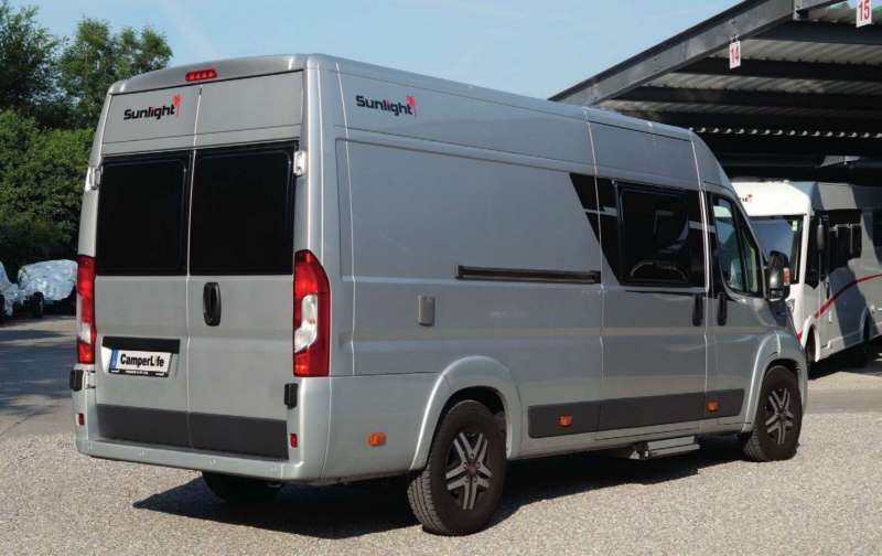 camperlife rivista camperisti recensioni camper van Sunlight Cliff 640