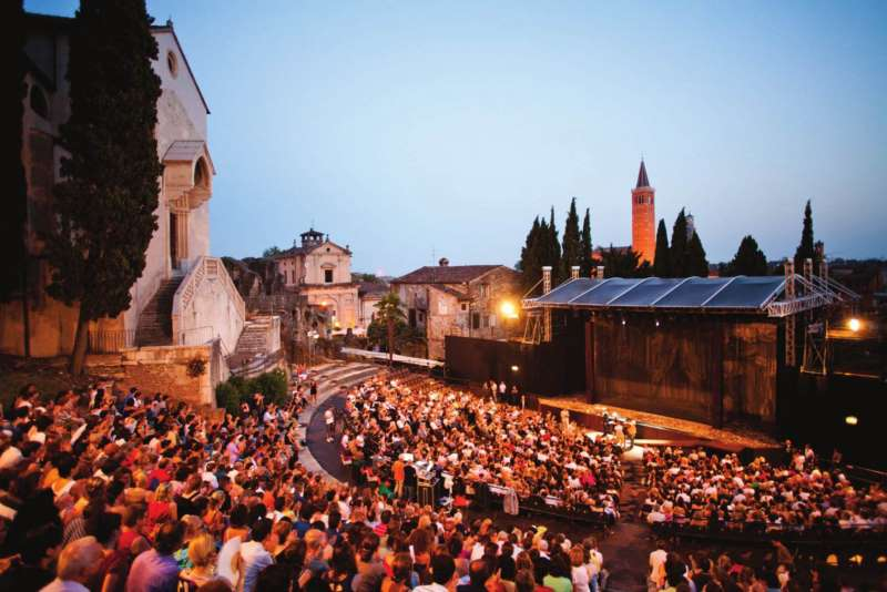 camper camperlife Verona in Love teatro romano