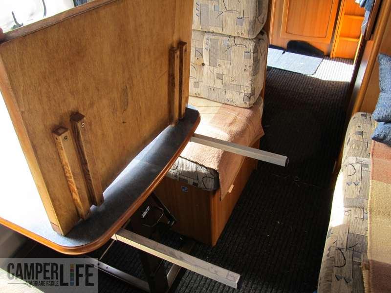 Realizzare una prolunga per il tavolo del camper camper life - Tavoli rustici fai da te ...