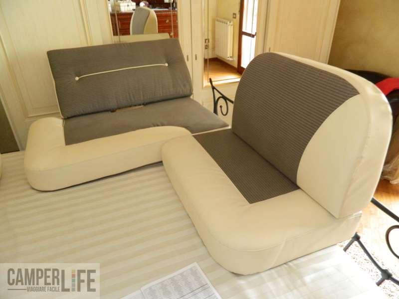 Rinnovare la tappezzeria in camper camper life - Foderare divani ...