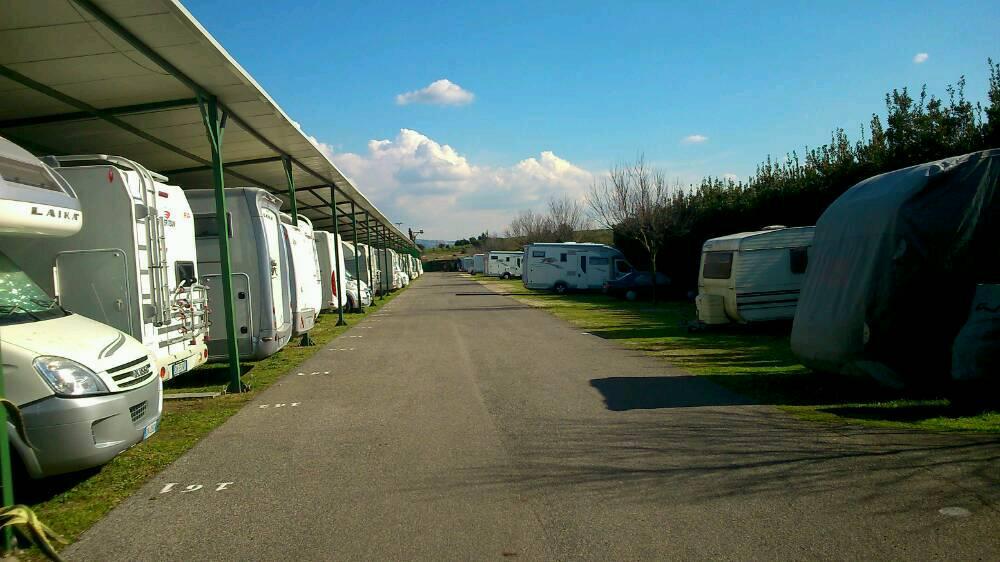 Parking Le Terrazze - Roma Roma Lazio | Camper Life