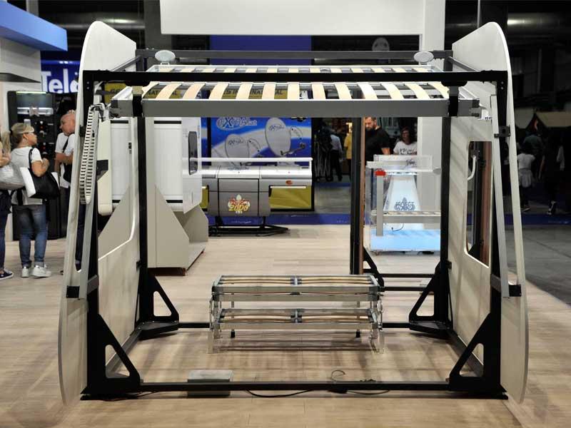 Porta Tv Camper Project 2000.Project 2000 Le Due Novita Presentate Al Salone Del Camper