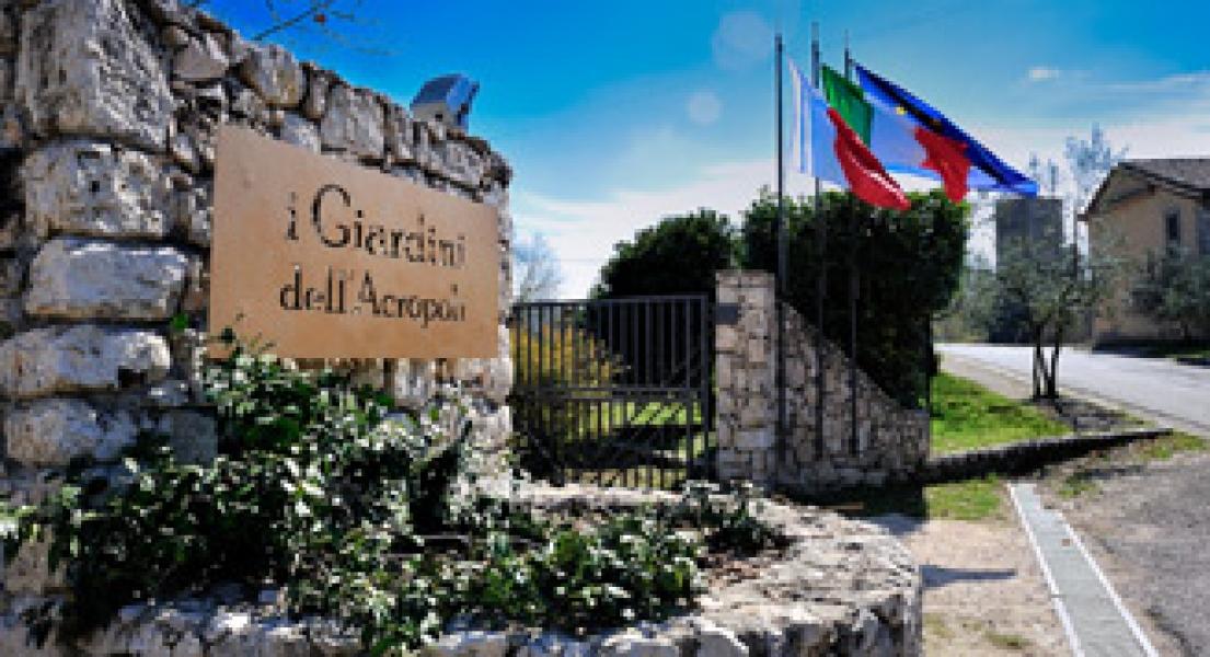 I giardini dell 39 acropoli arpino frosinone lazio camper life - Giardini dell acropoli arpino ...