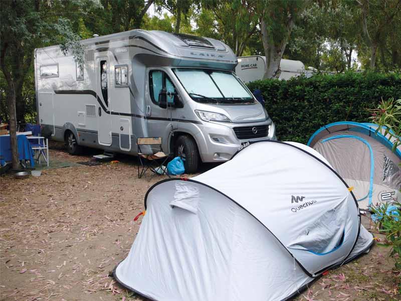 Tende e accessori: uno spazio in più outdoor camper life