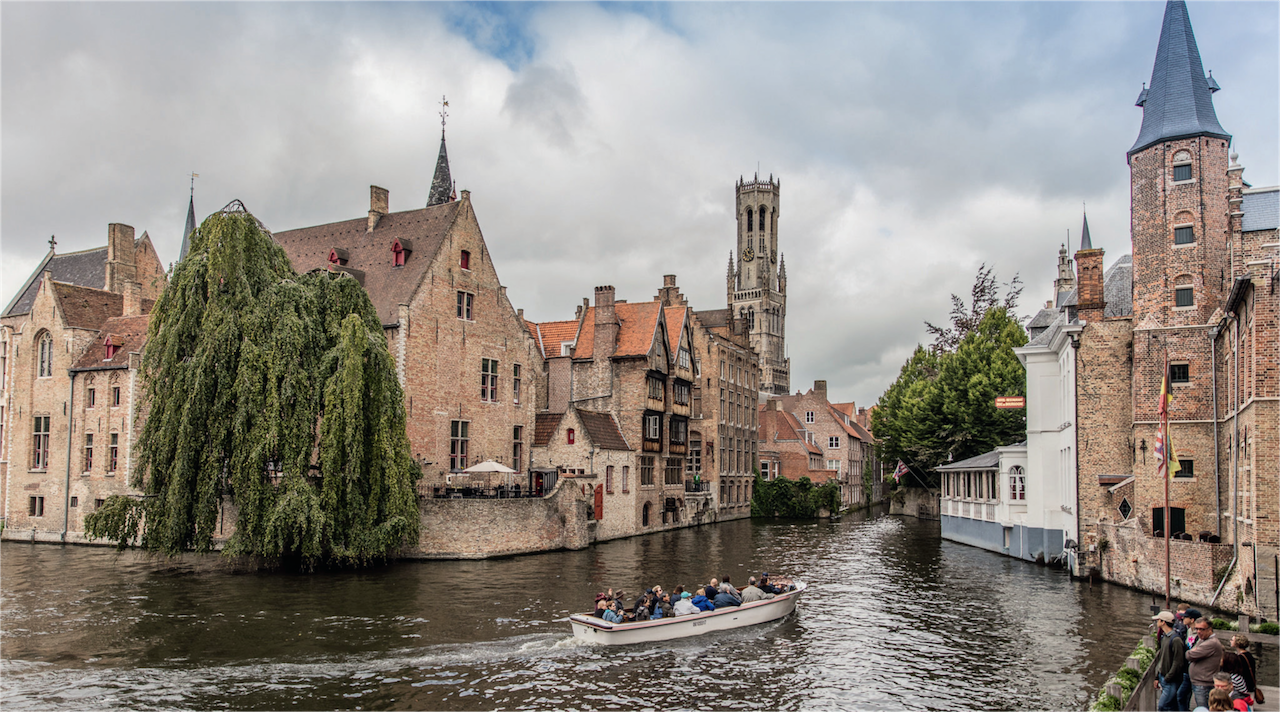 Bruges canali©Pieter D'Hoop/Visit Flanders