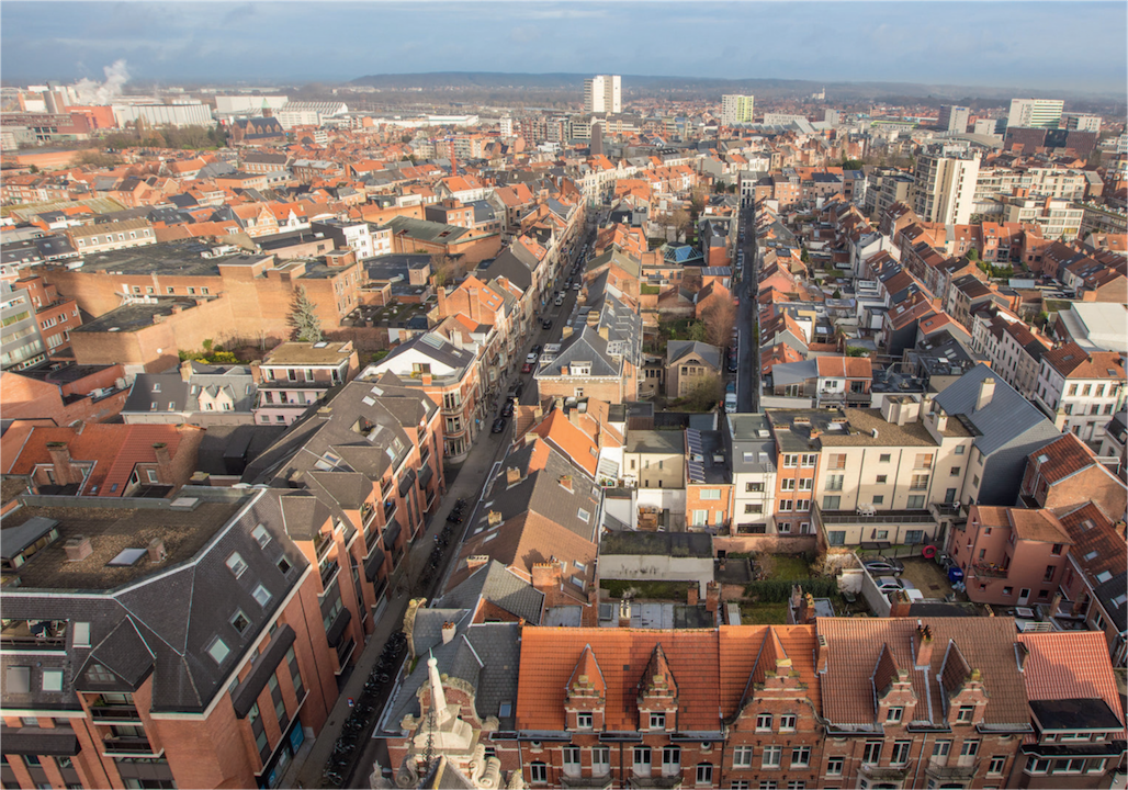 Leuven vista dall'alto,©Visit Flanders