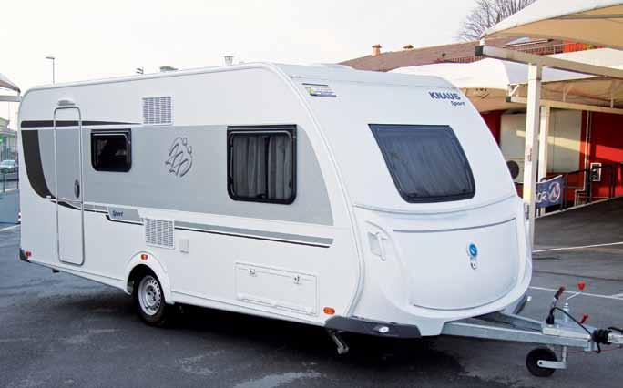 Plafoniera Esterna Per Roulotte : Test caravan knaus sport qdk camper life