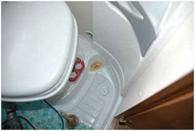Riparare piccoli danni al piatto del bagno o alla doccia camper life - Bagno camper fai da te ...