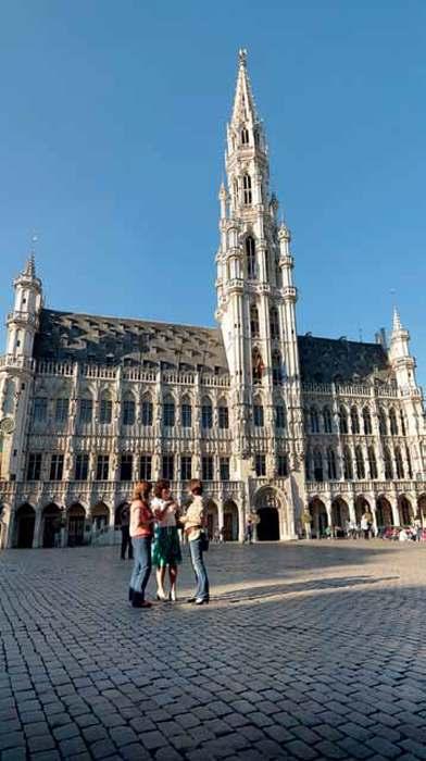 In belgio con l 39 europa nel cuore viaggi in camper for Disegnatori famosi