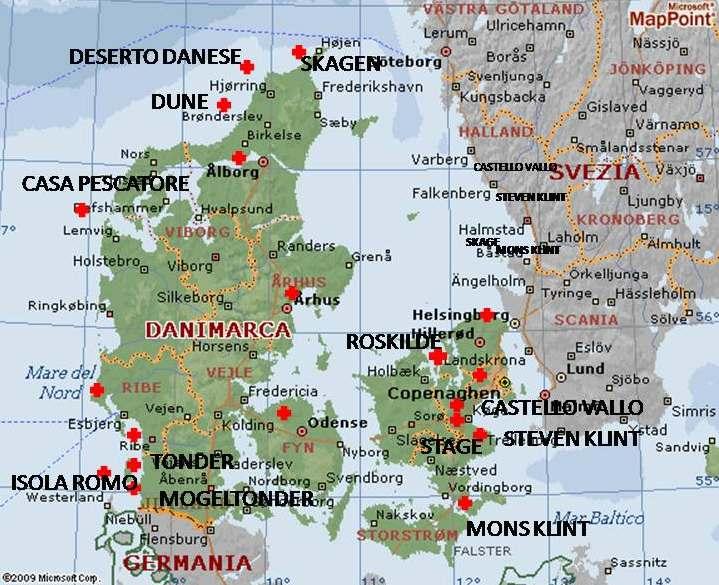 Cartina Della Danimarca.Danimarca Un Viaggio A Colori Camperlife