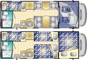 Camper a noleggio una guida pratica camper life - Camper 7 posti letto ...