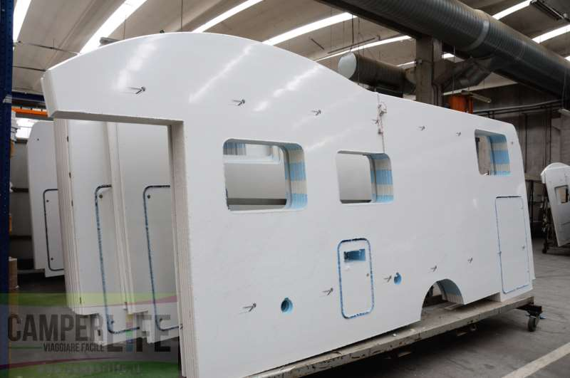 Pannelli vetroresina per camper