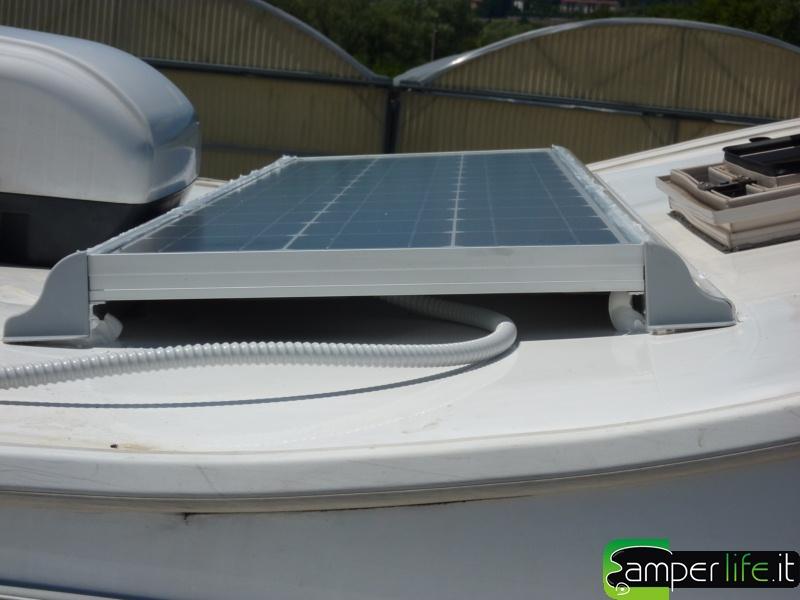 Pannello Solare Kit Camper : Pannello solare cs evolution camper life