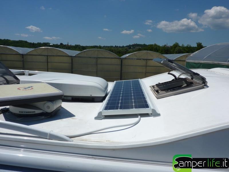 Pannello Solare Camper Usato : Pannello solare cs evolution camper life