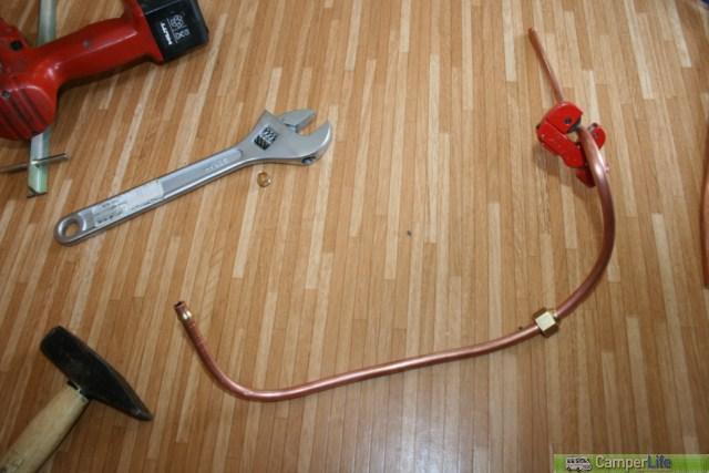 Presa gas esterna camper life for Tipi di raccordi per tubi di rame