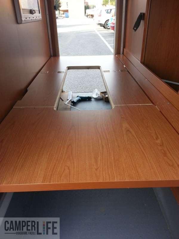 Creare un accesso al garage su rimor europeo 89 del 2011 - Volevo solo andare a letto presto ...