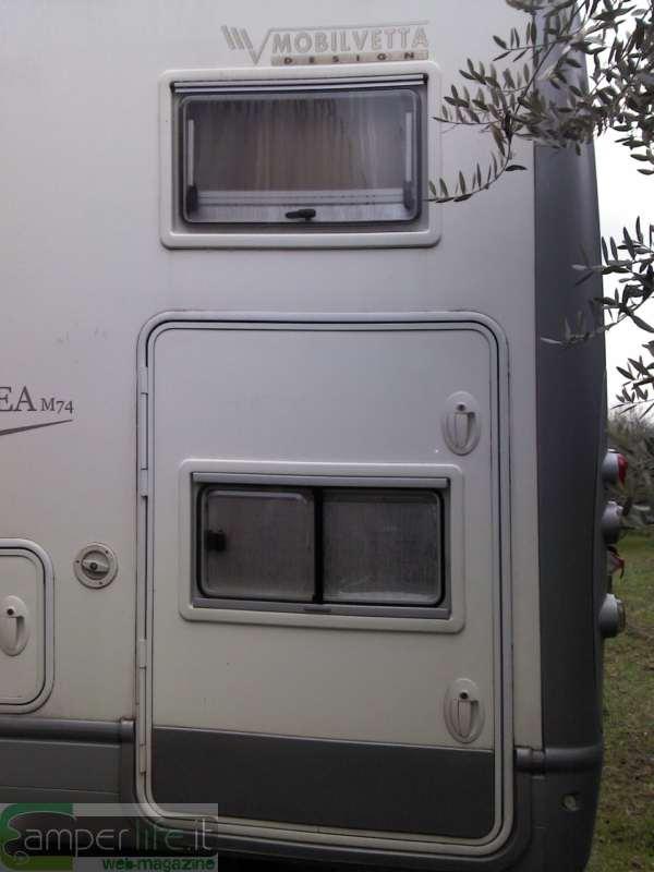 Mobilvetta kea modifica del matrimoniale posteriore camper life - Finestre per camper ...