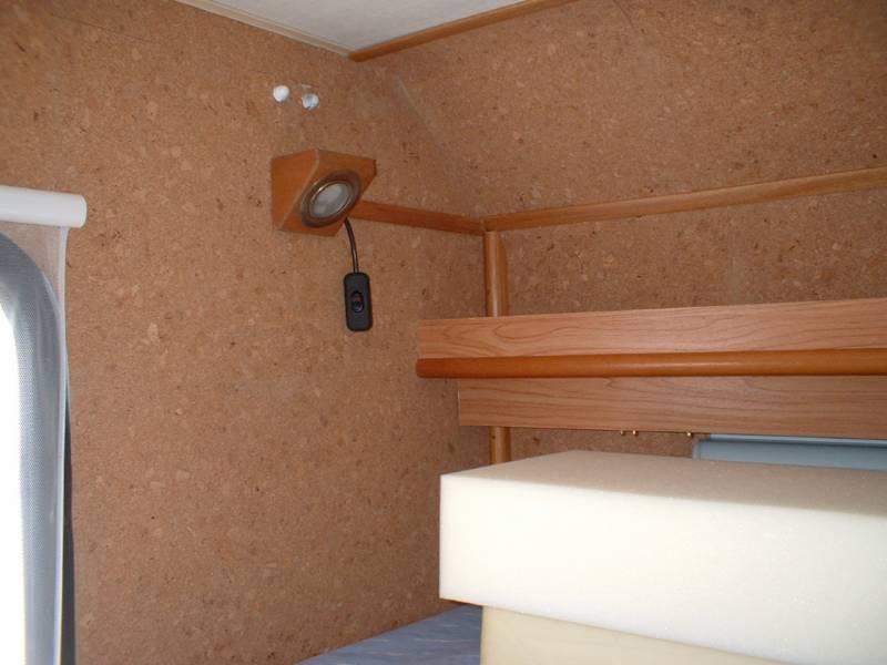 Luci letto a castello  CAMPER LIFE il portale del camper e viaggi in camper per camperisti italiani