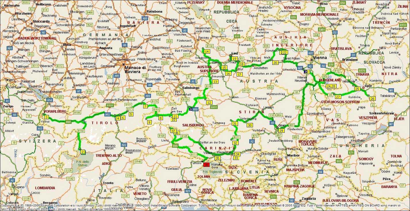 Cartina Stradale Austria.Argentina Carta Stradale