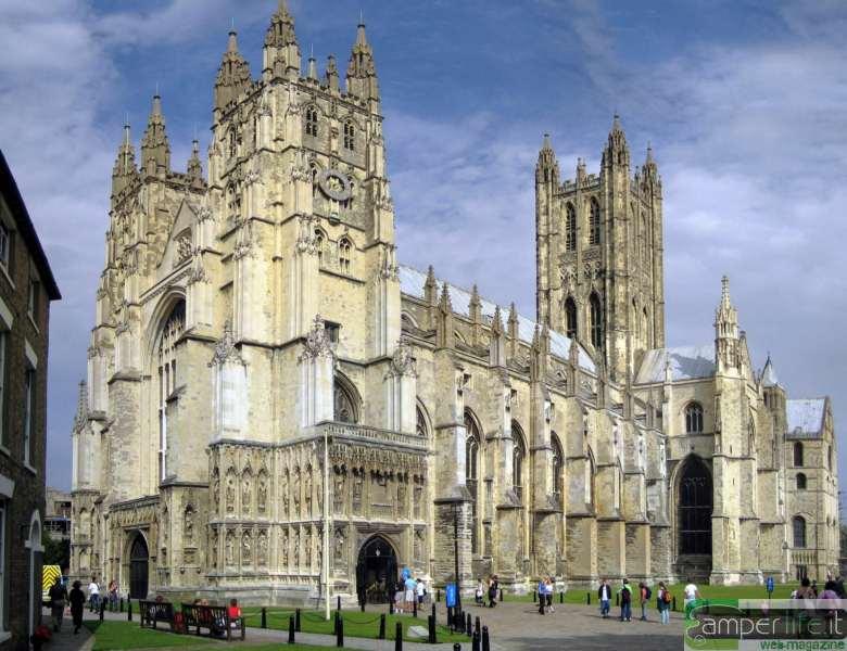 camper inghilterra Canterbury cattedrale