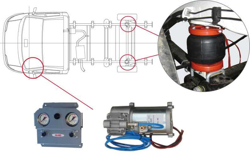 Kit Per Compressore Ad Aria Raccordi Tubi Innocenti