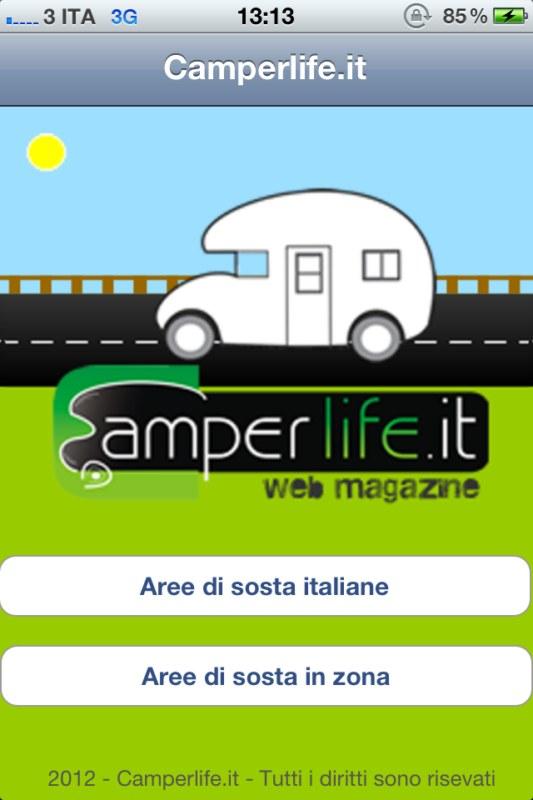 camper camperlifeapp app iphone