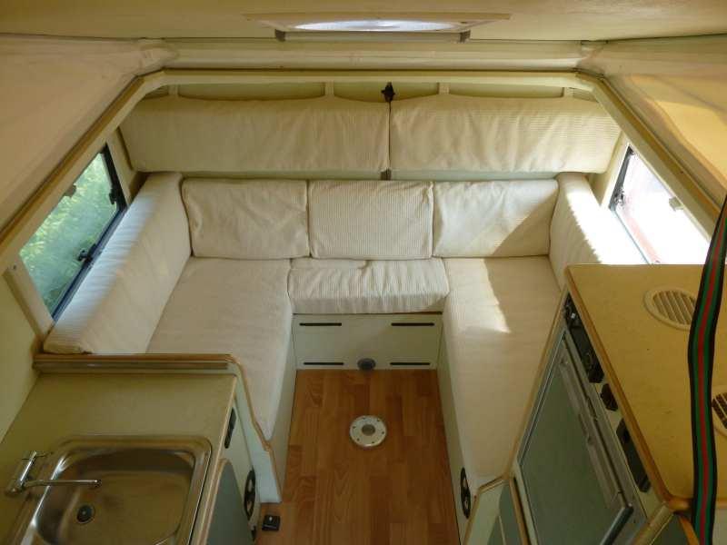 Vacanze in fuoristrada a italia vacanze camper life for Costruito nella cabina della cucina