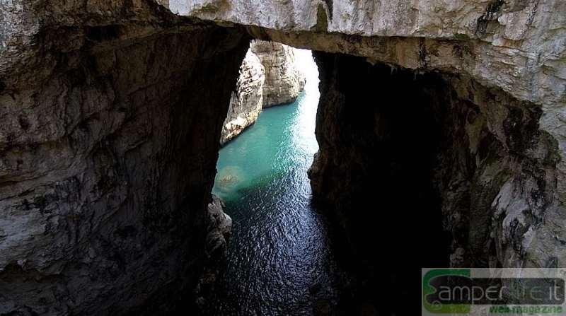 camper lazio latina gaeta grotta del turco