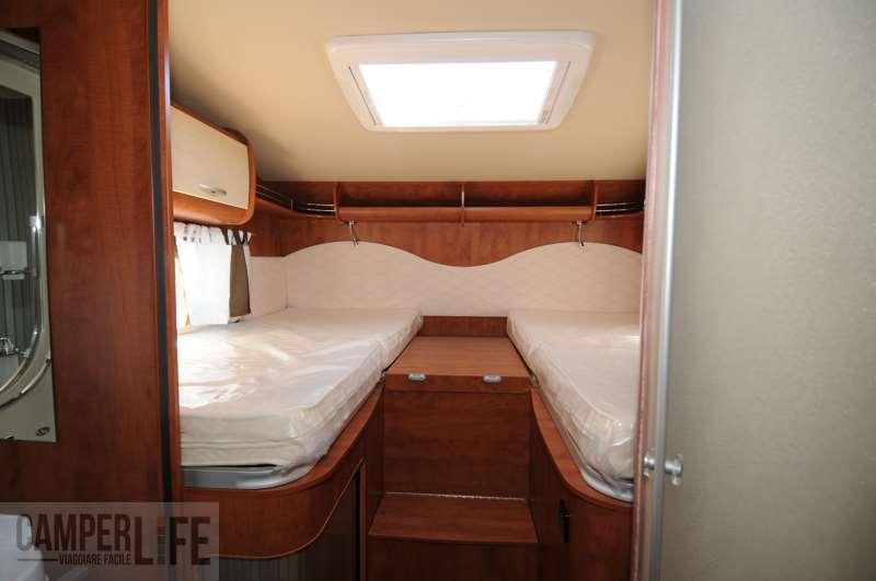 I test di camperlife p l a m744 camper life for Aggiunta garage modulare