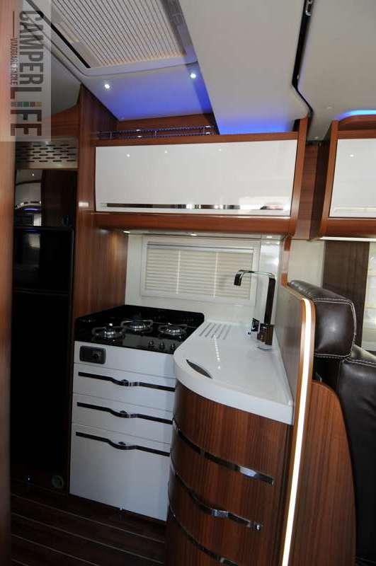 Supertest mobilvetta krosser p94 camper life - Blocco cucina 160 cm ...