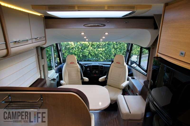 I test di camperlife arca h 720 glm camper life - Arca mobili bagno ...