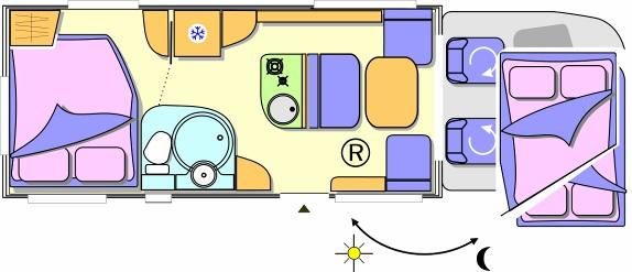 challenger prium l 39 innovazione in movimento camper life. Black Bedroom Furniture Sets. Home Design Ideas