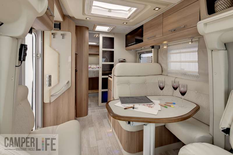 Supertest ci riviera elitep sinfonia camper life for Interno roulotte