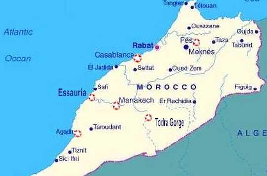Dove Si Trova Il Marocco Cartina.Marocco Viaggio In Camper Nel Magico Marocco